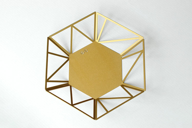 HEX קערת | GOLD