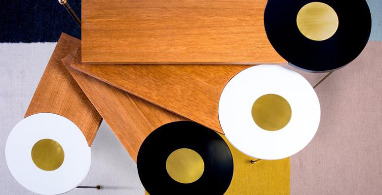 שולחן סלון נפתח מניפה