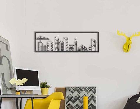 tel aviv skyline |  metal wall art