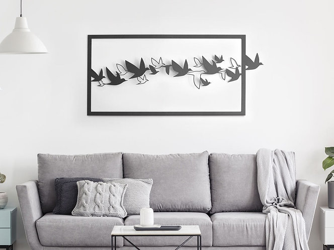 עבודת ציפורים XL תמונה לסלון