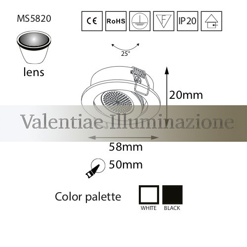 led spot light 3W for your lighting projects