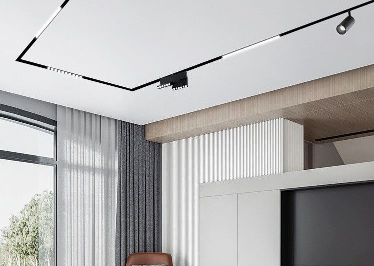 magnetic luminaire and spotlight