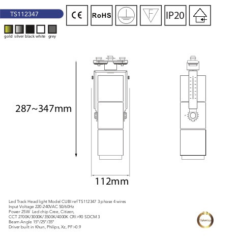 track head light TS112347