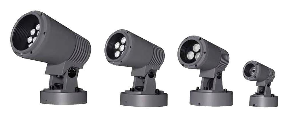 nelux gama de proyectores de exterior titan