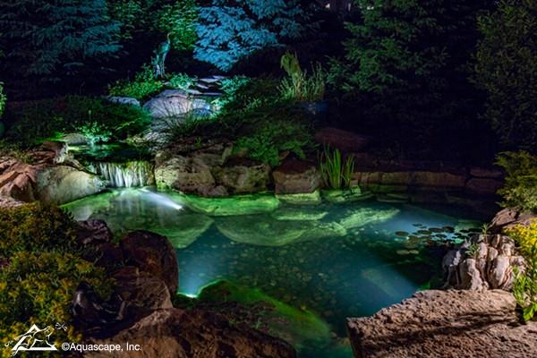 iluminacion subacuática proyectores