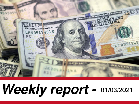 01 March, 2021 - Market Report