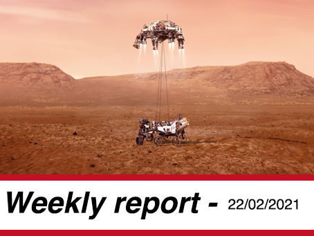 22 February, 2021 - Market Report