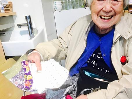 みめこおばあちゃんの夏マスク 入荷