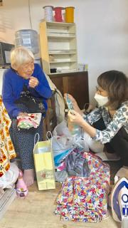 みめこおばあちゃんの夏マスク 大量注文入りました