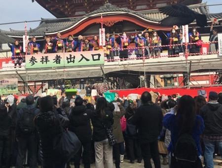 大須観音で節分祭