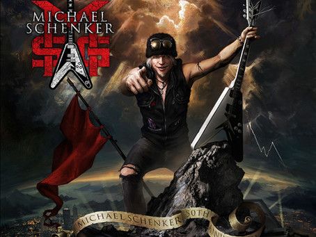 GUITAR ICON SCHENKER TO RELEASE NEW ALBUM JANUARY 15th.