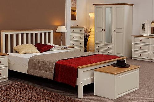 Beds4u Ivory & Oak