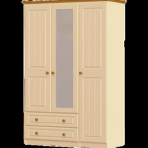 Erris 3 Door 2 Drawer Wardrobe