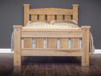 Solid Oak Bedframe