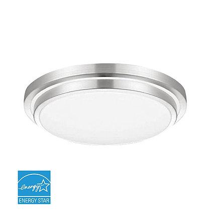 "LED 15"" Silver Trim Ceiling Light 25 Watt 2200lm"