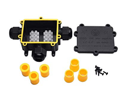 4-WAY WATERPROOF JUNCTION BOX