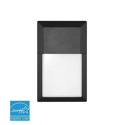 LED Mini Wall Pack With Photocell 12W 1000lm Energy Star