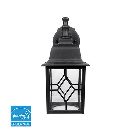 Integrated LED Wall Lantern 11W 1000lm