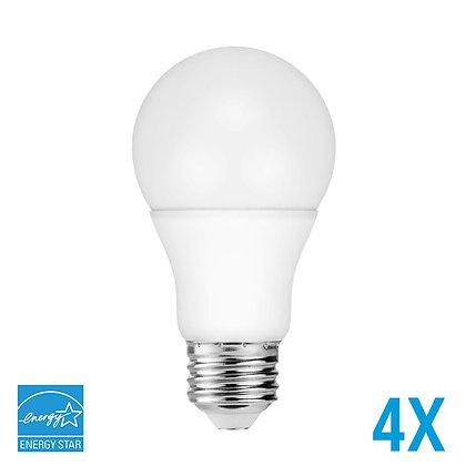 A19 60W Equivalent Energy Star 2700K-6500K Options Avaliable