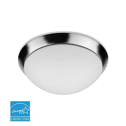 """LED 13"""" Chrome Ceiling Light 19 Watt 1500lm"""