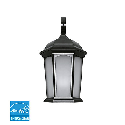 LED Oiled Bronze Wall Lantern 12.5W 1200lm Energy Star
