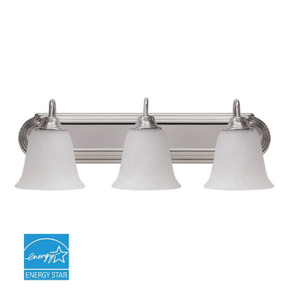 LED Silver Vanity Light 28W 2100lm Energy Star