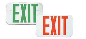 LED Exit Sign - Pack of 6