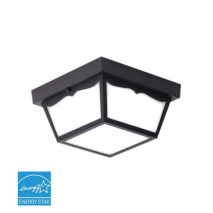 "LED 10"" Outdoor Ceiling Light 16 Watt 1260lm"