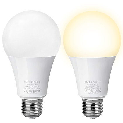 A19 Smart Bulb Color Temperature Adjustable