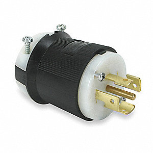 INDUSTRIAL PLUG - WORKS WITH 277V OUTLET