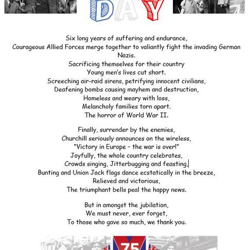 A Poem for VE Day