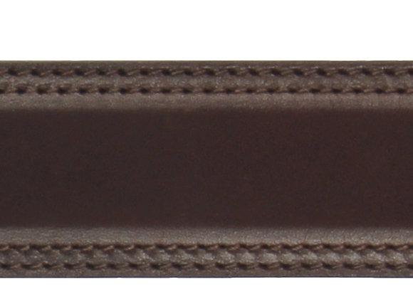 Glatt Braun Naht 35mm