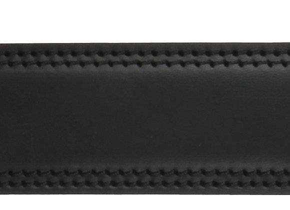 Glatt Schwarz Naht 35mm
