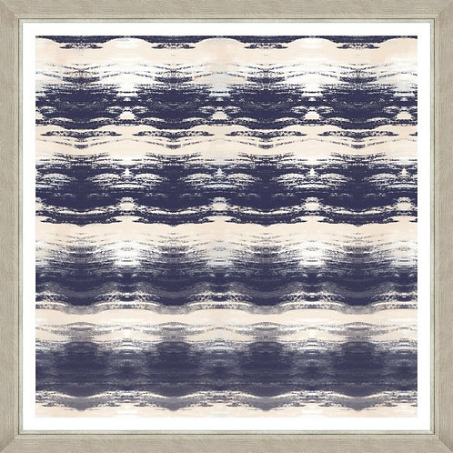copy of Frames Linen Print - Indigo Waves