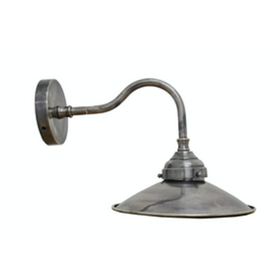Pewter Style Wall Lamp