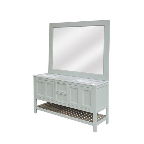 Standard Vanity Double Sink 1510mm