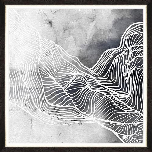 Waves II - Framed Print