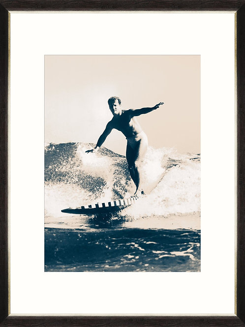 Retro Surfing - Framed Print