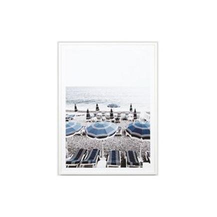 Italian Seaside - Framed