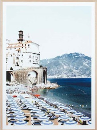 Amalfi Beach - Framed