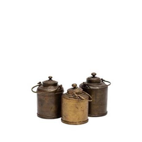Original Brass Milk Pots