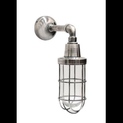 Indoor/Outdoor Pewter Cage Light - IP54