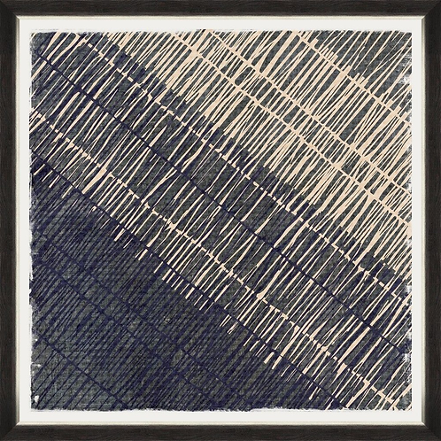 copy of Framed Linen Print - Abstract Marks II