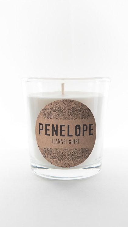 Flannel Shirt Soy Candle, 8.5 oz., Teakwood, Cedar,Tobacco