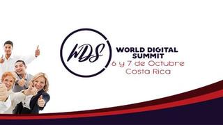 Hablando de encuestas digitales en el World Digital Summit Costa Rica