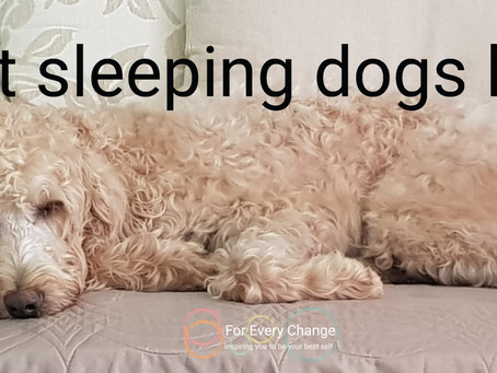 Letting sleeping dogs lie - to therapy or not to therapy?