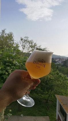 """Verre """"L'Espelette Bière"""" 42cl"""