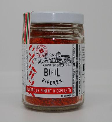 Poudre de piment d'Espelette AOP verrine – 50g