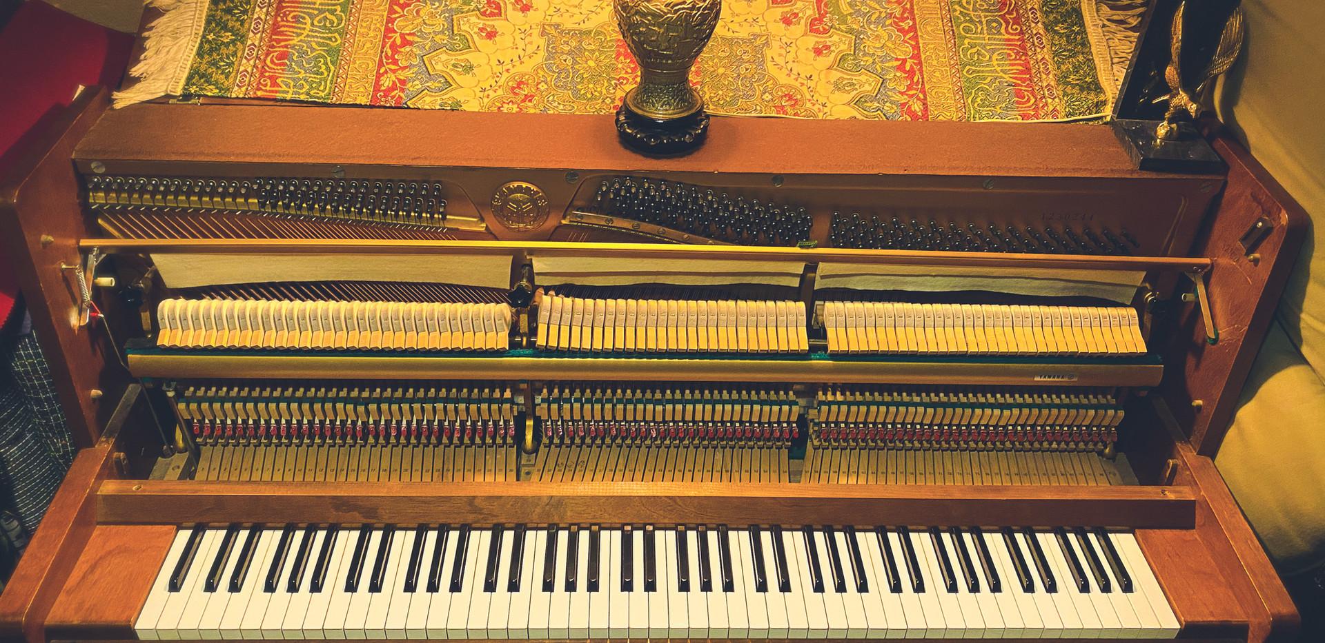 1960's Yamaha Upright Piano