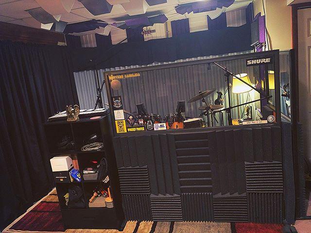Drum Area / Grand Room Partition